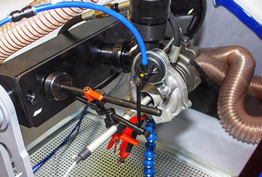 Yorkshire Engines - Turbo Testing.